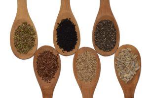 Semillas de lino para limpiar colon.